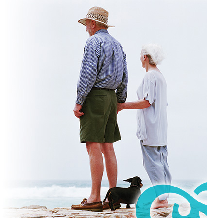 elderly-on-beach